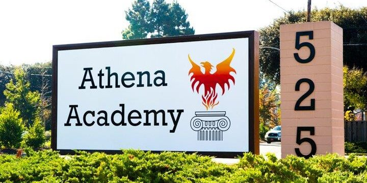 athena-road-sign